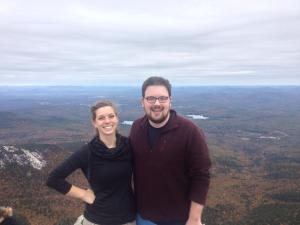 Me with Tim, also in the Higher Ed cohort, after we hiked Mount Chocorua in New Hampshire.
