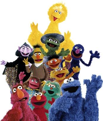 Sesame Street Muppets!