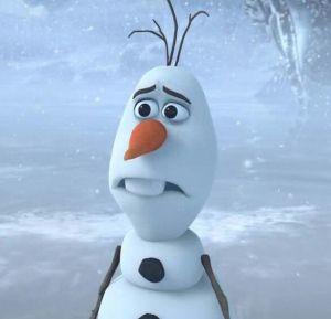 Sad Olaf