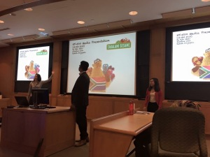 Media presentation on Takalani Sesame and Kami, the world's first HIV positive muppet