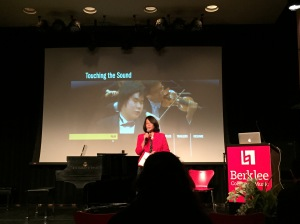 SOUND VISION - a symposium on music and the visually impaired at the Berklee College of Music,