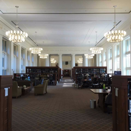 Law library - inside