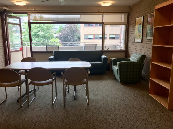 GSAS common room