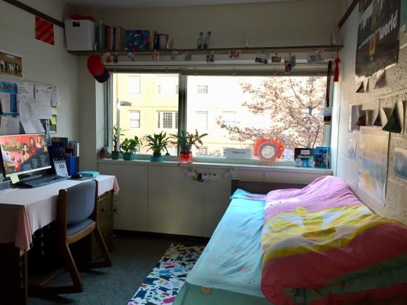 GSAS dorm room