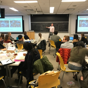 A snapshot from the Innovation Field Lab course at the Harvard Kennedy School